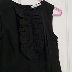 EUC Laundry tuxedo dress size 0